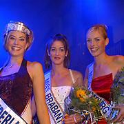 Verkiezing Miss Nederland 2003, Sanne de Regt, Femke Frederiks, Nathalie Hassink