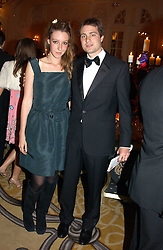 BEN & KATE GOLDSMITH at a dinner in aid of the BAAF (British Association for Adoption & Fostering) held at The Savoy, London on 22nd March 2005.<br />