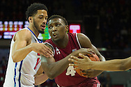 DALLAS, TX - FEBRUARY 19: Daniel Dingle #4 of the Temple Owls drives to the basket against the SMU Mustangs on February 19, 2015 at Moody Coliseum in Dallas, Texas.  (Photo by Cooper Neill/Getty Images) *** Local Caption *** Daniel Dingle