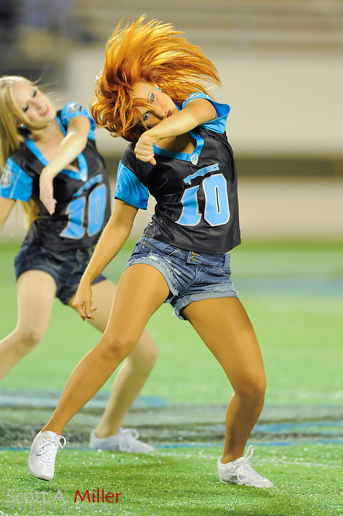 Sep 30, 2010; Orlando, FL, USA; Florida Tuskers  cheerleaders during the Tuskers 20-17 loss to the Las Vegas Locomotives at the Citrus Bowl. ..©2010 Scott A. Miller