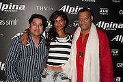 Phillip Delacruz of JLP the Presdient's Tequila, K.J., Laurence Fishburne