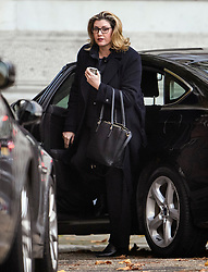 © Licensed to London News Pictures. 14/11/2018. London, UK. Secretary of State for International Development,  PENNY MORDAUNT is seen arriving at Downing Street via a rear entrance for a Cabinet meeting to discus a proposed Brexit deal. Photo credit: Ben Cawthra/LNP
