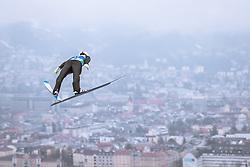 22.02.2019, Bergiselschanze, Innsbruck, AUT, FIS Weltmeisterschaften Ski Nordisch, Seefeld 2019, Skisprung, Herren, im Bild Sebastian Colloredo (ITA) // Sebastian Colloredo of Italy during the men's Skijumping of FIS Nordic Ski World Championships 2019. Bergiselschanze in Innsbruck, Austria on 2019/02/22. EXPA Pictures © 2019, PhotoCredit: EXPA/ Dominik Angerer