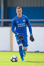 NUNEATON, ENGLAND - Sunday, July 30, 2017: PSV Eindhoven's goalkeeper Yanick Van Osch during a pre-season friendly between Liverpool and PSV Eindhoven at the Liberty Way Stadium. (Pic by Paul Greenwood/Propaganda)
