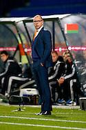12-11-2015 VOETBAL:JONG ORANJE-JONG WIT RUSLAND:TILBURG<br /> Koning Willem II Stadion EK-kwalificatiewedstrijd<br /> <br /> Jong oranje bondscoach Fred Grim <br /> <br /> Foto: Geert van Erven