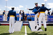 23.MAY.2012. COLORADO SPRINGS<br /> <br /> PRESIDENT BARACK OBAMA CONGRATULATES CADETS AS THEY RECEIVE THEIR DIPLOMAS DURING THE COMMENCEMENT CEREMONY AT THE UNITED STATES AIR FORCE ACADEMY IN COLORADO SPRINGS, COLO., MAY 23, 2012.  <br /> <br /> BYLINE: EDBIMAGEARCHIVE.CO.UK<br /> <br /> *THIS IMAGE IS STRICTLY FOR UK NEWSPAPERS AND MAGAZINES ONLY*<br /> *FOR WORLD WIDE SALES AND WEB USE PLEASE CONTACT EDBIMAGEARCHIVE - 0208 954 5968*