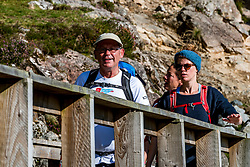 31-08-2018 SCO: Challenge of the Ben Nevis, Fort William<br /> Head up the UK's highest mountain, Ben Nevis, near Fort William in the western Highlands of Scotland. Standing at 1, 345 m (4412 ft) its majestic summit offers an enticing challenge.