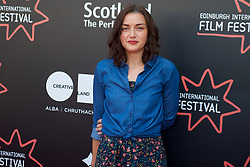 On the red carpet during the Edinburgh International Film Festival Premier of Daphne at Cineworld, Valentina Brazzinni, Friday 23rd June 2017(c) Brian Anderson | Edinburgh Elite media