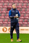 Ryan Kent (#14) of Rangers FC on the pitch before the Ladbrokes Scottish Premiership match between Heart of Midlothian and Rangers FC at Tynecastle Park, Edinburgh, Scotland on 20 October 2019.