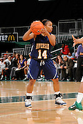 December 18, 2010: Tre'Shonti Nottingham of the  California Riverside Highlanders in action during the NCAA basketball game between the Miami Hurricanes and the Highlanders. The 'Canes defeated the Highlanders 81-59.