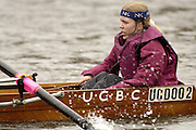 Chiswick, LONDON, ENGLAND, 25.03.2006, UCBC Cox, 2006 Head of the River Race. Mortlake to Putney. © Peter Spurrier/Intersport-images.com. 2006 Men's Head of the River Race, Rowing Course: River Thames, Championship course, Putney to Mortlake 4.25 Miles 2006 Men's Head of the River Race, Rowing Course: River Thames, Championship course, Putney to Mortlake 4.25 Miles