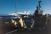 F-18 cat shot