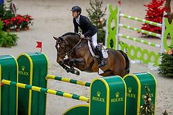 BRASH Scott (GBR), Hello Vincent<br /> Genf - CHI Geneve Rolex Grand Slam 2019<br /> Prix des Communes Genevoises<br /> 2-Phasen-Springen<br /> International Jumping Competition 1m50<br /> Two Phases: A + A, Both Phases Against the Clock<br /> 13. Dezember 2019<br /> © www.sportfotos-lafrentz.de/Stefan Lafrentz