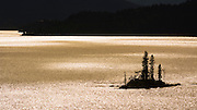 Wild Goose Island on Saint Mary Lake, Glacier National Park, Montana USA