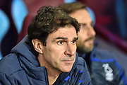 Nottingham Forest manager Aitor Karanka during the EFL Sky Bet Championship match between Aston Villa and Nottingham Forest at Villa Park, Birmingham, England on 28 November 2018.