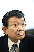 "Kaoru Yosano (??? ? ), born August 22, 1938) is a Japanese politician. He is a member of Liberal Democratic Party (LDP) and member of the House of Representatives, currently serving his ninth term in the Lower House representing Tokyo's first electoral district. Yosano was Chief Cabinet Secretary to Prime Minister Shinzo Abe from August 2007 to September 2007 and is currently State Minister in charge of Economic and Fiscal Policy...Born the grandson of poets Yosano Akiko and Yosano Tekkan in Tokyo, he graduated from the University of Tokyo in 1963. In 1972 he unsuccessfully ran for a seat in House of Representatives. Yosano then served as secretary to Yasuhiro Nakasone. He ran again in 1976 and was elected for the first time. On August 27, 2007, he was appointed Chief Cabinet Secretary to Prime Minister Shinzo Abe, replacing Yasuhisa Shiozaki. He was replaced by Nobutaka Machimura on September 27 when Yasuo Fukuda succeeded Abe.[1]..Yosano was appointed as State Minister in charge of Economic and Fiscal Policy on August 1, 2008.[2]..Yosano is known for advocating an increase in the consumption tax to reconstruct the nation's debt-ridden fiscal structure. His hobbies include golf, making computers, photography, fishing, and playing Japanese board games.[1]..Following the resignation of Prime Minister Yasuo Fukuda, Yosano announced his candidacy for the LDP presidency on September 8, 2008: ""I believe politicians should never mislead the public by showing some rosy pictures. The LDP is facing the biggest crisis since its creation. I will contest the election with high spirits and the courage to lead Japan. Japan is going through a crisis. I will battle the situation for the benefit of the people.""[3][4] In the leadership election, held on September 22, 2008, Taro Aso was elected with 351 of the 527 votes, while Yosano trailed in second place with 66 votes.[5] In Aso's Cabinet, appointed on 24 September 2008, Yosano retained his post as State Minister in charge of Econo"
