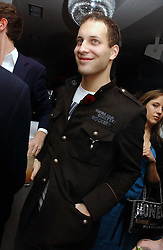 LORD FREDERICK WINDSOR at a party to celebrate the publication of Tatler's Little Black Book 2006 held at 24, 24 Kingley Street, London W1 on 9th November 2006.<br /><br />NON EXCLUSIVE - WORLD RIGHTS
