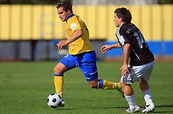 Juan Vitagliano (15) of Koper at 12th Round of PrvaLiga Telekom Slovenije between NK Luka Koper vs NK Interblock, on October 4, 2008, in SRC Bonifika in Koper, Slovenia. Interblock won the match 4:1. (Photo by Vid Ponikvar / Sportal Images)