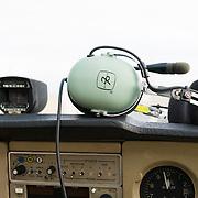 Pilot headset.