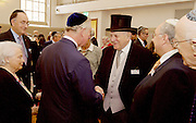 Service of Celebration to conclude the 175th year of the West London Synagogue of British Jews, Seymour Place, London, Great Britain <br /> 17th December 2015 <br /> <br /> In attendance<br /> HRH The Prince of Wales <br /> Dr Grahame Davies <br /> Miss Natalie Forster <br /> Superintendent Tim Nash<br /> Deputy Lieutenant for Westminster Dr Paul Knapman<br /> Stephen Moss The President of the Synagogue<br /> Rabbi Baroness Julia Neuberger<br /> <br /> <br /> Photograph by Elliott Franks
