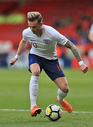 England U21's James Maddison during the UEFA European U21 Championship Qualifying, Group 4 match at Bramall Lane, Sheffield. PRESS ASSOCIATION Photo. Picture date: Tuesday March 27, 2018. See PA story SOCCER England U21. Photo credit should read: Mike Egerton/PA Wire. RESTRICTIONS: Use subject to FA restrictions. Editorial use only. Commercial use only with prior written consent of the FA. No editing except cropping.