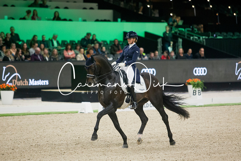 Scholtens Emmelie, NED, Apache<br /> FEI Dressage World Cup™ Grand Prix presented by RS2 Dressage - The Dutch Masters<br /> © Hippo Foto - Sharon Vandeput<br /> 14/03/19