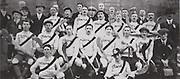 Clare ( Quin) All Ireland Hurling Champions 1914. Back Row: Thomas McGrath, John Fox, Robert Doherty, Michael Flannagan, James Clancy, Joe Power. Middle Row: J Guerin, Patrick McInerney, W Considine, Amby Power (capt), M Molony, Ed Grace, J Shalloo. Front Row: Brendan Considine, Sham Spellissy.