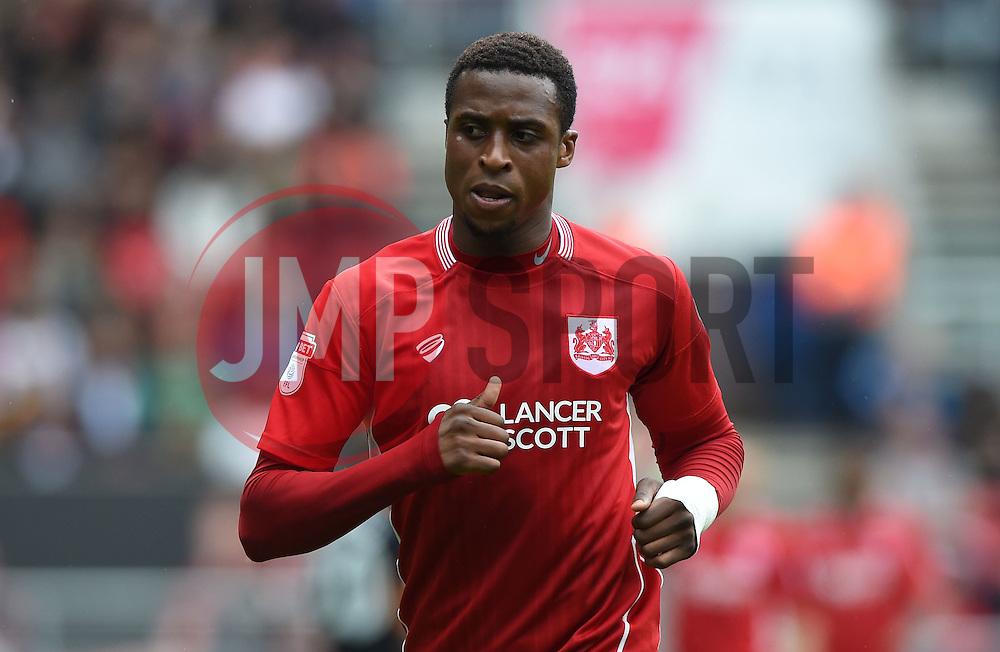 Jonathan Kodjia of Bristol City  - Mandatory by-line: Joe Meredith/JMP - 20/08/2016 - FOOTBALL - Ashton Gate - Bristol, England - Bristol City v Newcastle United - Sky Bet Championship