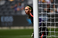 SYDNEY, AUSTRALIA - NOVEMBER 09:Christiane Endler of Chile warming up before the International friendly soccer match between Matildas and Chile on November 09, 2019 at Bankwest Stadium in Sydney, Australia. (Photo by Speed Media/Icon Sportswire)