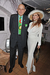NAIM ATTALLAH and NAOMI TATE at a party to celebrate the publication of Seductive Interiors by Sara Hersham Loftus at Julie's, 135 Portland Road, London W11 on 15th November 2012.