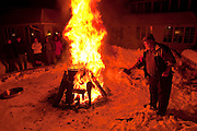 Winter fish boil at the White Gull Inn in Fish Creek in Door County, Wisconsin.  (Photo / Mike Roemer Photography)