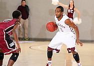 November 12, 2013: The Southern Nazarene University Crimson Storm play against the Oklahoma Christian University Eagles in the Eagles Nest on the campus of Oklahoma Christian University.