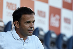September 30, 2018 - Villarreal, Castellon, Spain - Javier Calleja head coach of Villarreal CF looks on prior to the La Liga match between Villarreal CF and Real Valladolid at Estadio de la Ceramica on September 30, 2018 in Vila-real, Spain  (Credit Image: © David Aliaga/NurPhoto/ZUMA Press)