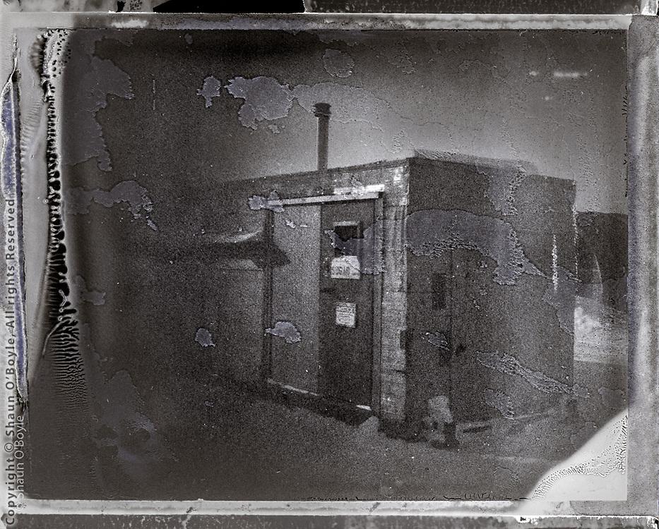 Sugar Shack. Polaroid camera with Fuji instant film.