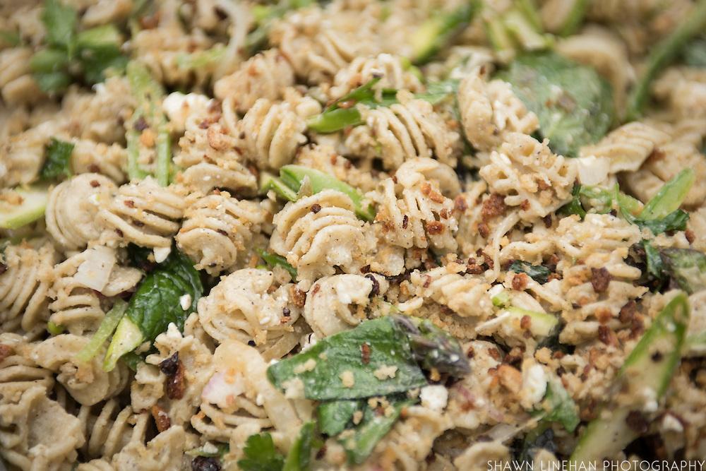 Barley pasta made by JoMarie Pitino of Ava Gene's Restaurant