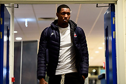 Fred Thomas of Bristol Flyers arrives at SGS Wise Arena prior to kick off - Photo mandatory by-line: Ryan Hiscott/JMP - 15/11/2019 - BASKETBALL - SGS Wise Arena - Bristol, England - Bristol Flyers v London City Royals - British Basketball League Cup