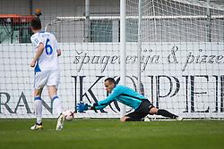 Dejan Milic of NK Domzale during football match between NK Celje and NK Domžale in 27th Round of Prva Liga Telekom Slovenije 2016/17, on April 1, 2017 in Arena Petrol, Celje, Slovenia. Photo by Ziga Zupan / Sportida
