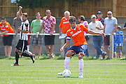 Luton Town Johnathan Smith during the Pre-Season Friendly match between Peacehaven & Telscombe and Luton Town at the Peacehaven Football Club, Peacehaven, United Kingdom on 18 July 2015. Photo by Phil Duncan.