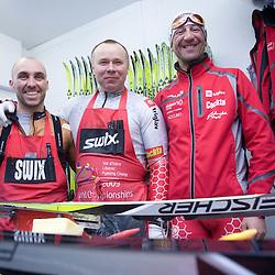 20090222: Nordic Ski - WC Liberec 2009, Ski Service team of Slovenia