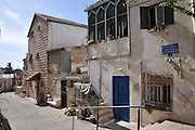 Israel, West Jerusalem, Machane Yehuda neighbourhood Kfar Baram Street