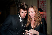 Jon Kortajarena; STELLA MCCARTNEY, Graydon Carter hosts a diner for Tom Ford to celebrate the London premiere of ' A Single Man' Harry's Bar. South Audley St. London. 1 February 2010