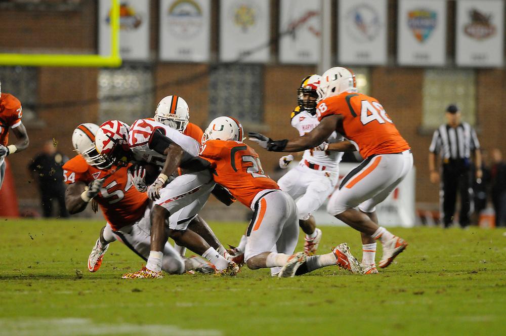 2011 Miami Hurricanes Football @ Maryland<br /> <br /> Brandon McGee