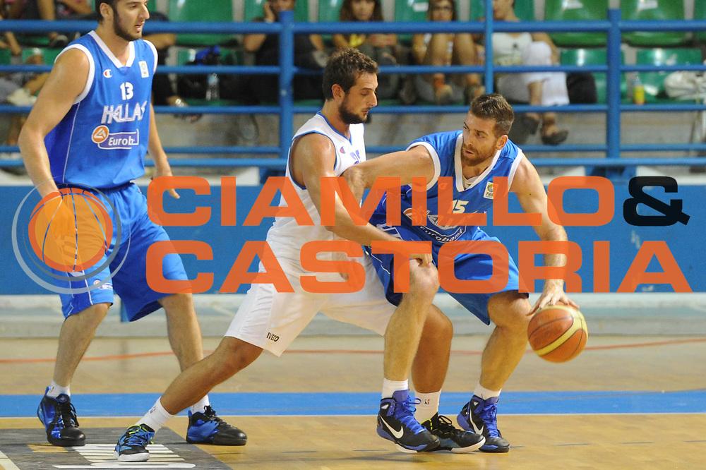 DESCRIZIONE : Cipro European Basketball Tour Italia Grecia<br /> GIOCATORE : Kaimakoglou<br /> CATEGORIA : Palleggio<br /> SQUADRA : Nazionale Italia Uomini <br /> EVENTO : European Basketball Tour <br /> GARA : Italia Grecia<br /> DATA : 05/08/2011 <br /> SPORT : Pallacanestro <br /> AUTORE : Agenzia Ciamillo-Castoria/GiulioCiamillo<br /> Galleria : Fip Nazionali 2011 <br /> Fotonotizia :  Cipro European Basketball Tour Italia Grecia<br /> Predefinita :