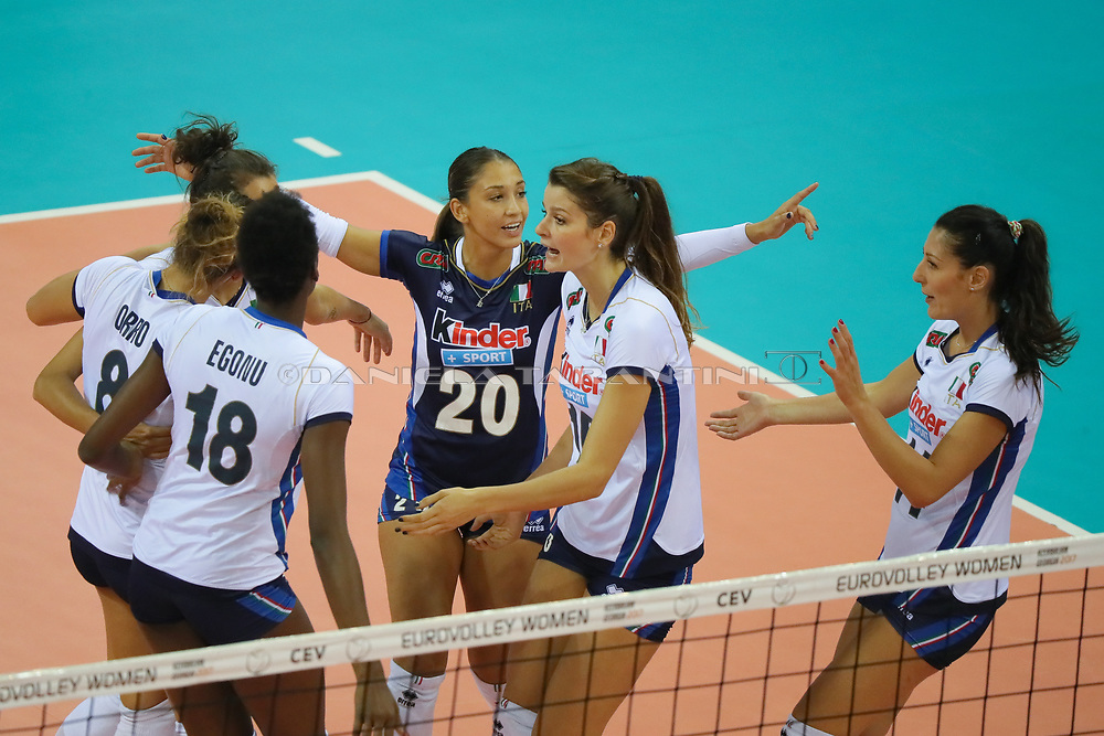 (ITA - CRO CEV Volleyball European Championship - Women 2017 Europei pallavolo)