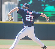 Ole Miss' R.J. Hively vs. TCU in an NCAA Regional Game at College Station, Texas on Friday, June 1, 2012. Ole Miss won 6-2.