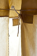 heavy duty canvas type curtain with robe
