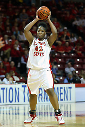15 March 2007: Lashawn Johnson. The Owls of Rice university visited the Redbirds of Illinois State University at Redbird Arena in Normal Illinois for a round one WNIT game.