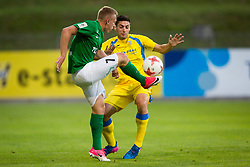Matija Sirok of NK Domzale during 1st leg match of 1st Round Qualifications for European League, on June 28, 2017 in Arena Petrol, Celje, Slovenia. Photo by Ziga Zupan / Sportida