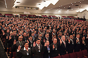 Mayor Bill de Blasio administers the Oath of Office to NYPD Recruits, pictured, at Queens College, 65-30 Kissena Blvd, Flushing, NY on Thursday, Jan. 9, 2014.<br /> <br /> CREDIT: Andrew Hinderaker for The Wall Street Journal<br /> SLUG: NYSTANDALONE