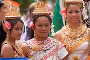 18897The International Street Fair  May 17th, 2008... Cambodians:..Yoeum Yun, Sayann Yun, Sandie Moeun, Sayoth Yun, Sinna Korm